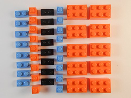 LEGO LOT of 44. Bricks and Plates