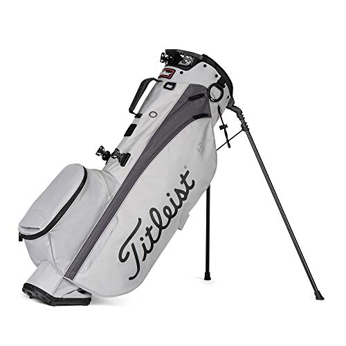 Titleist - Players 4 Golf Bag - Gray/Graphite