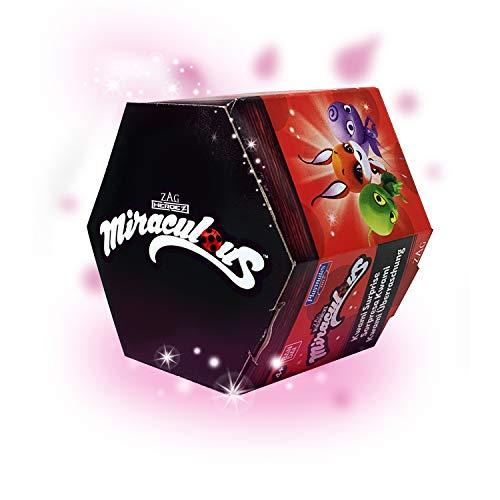 BANDAI- Miraculous Ladybug - Caja Sorpresa con una minifigura de Kwami para coleccionar, Modelo Aleatorio P50500, P50500