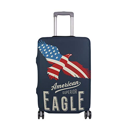 American Eagle Travelers Choice Equipaje de Viaje con Ruedas giratorias Maleta con Equipaje de 24 Pulgadas