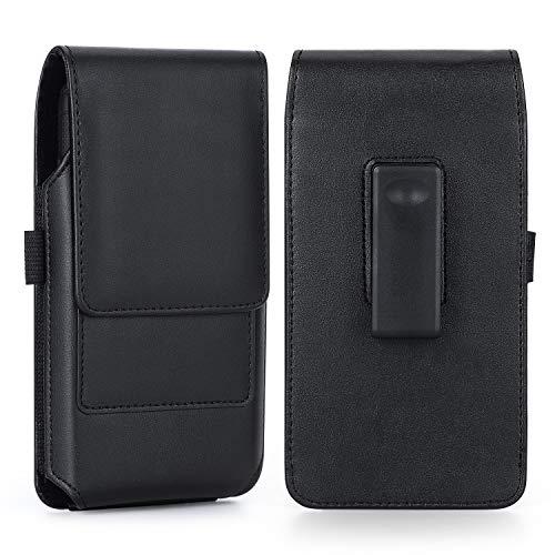 BECPLT Handy-Holster für iPhone 12 Pro Max, Xs Max XR 8 Plus 7 Plus, 360 ° drehbarer Gürtelclip, Tragetasche, Schutzhülle für Samsung Galaxy Note 8 9, Note 10 Plus, S8 Plus S9+ S20 Plus