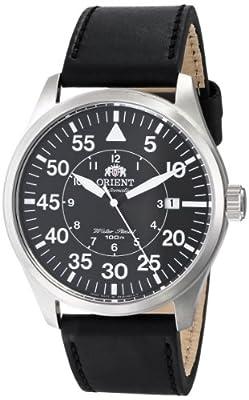 097289d64f4 Orient Men s FER2A003B0 Flight Analog Display Japanese Automatic Black Watch