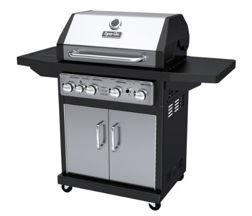 Dyna-Glo Black & Stainless Premium Grills, 4 Burner, Liquid Propane Gas a Grills Products Propane Service with