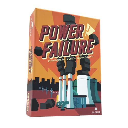 Power Failure   A Family Card Game About Building Power Plants to...