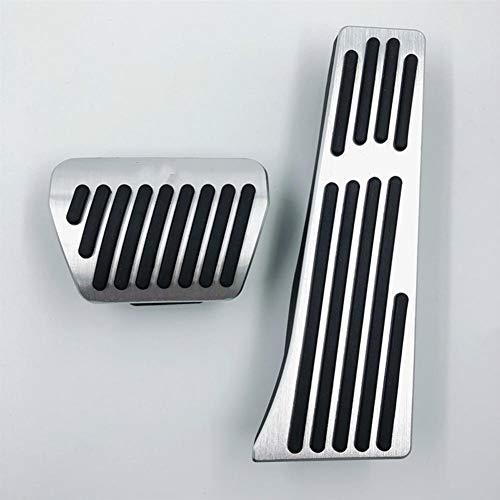 SFHJKD AT Pedal de Freno de Coche con diseño de reposapiés, para BMW X1, 1 2 4 3 Serie M E30 E32 E34 E36 E38 E39 E46 E60 E61 E84 E87 E90 E91 E92 E93