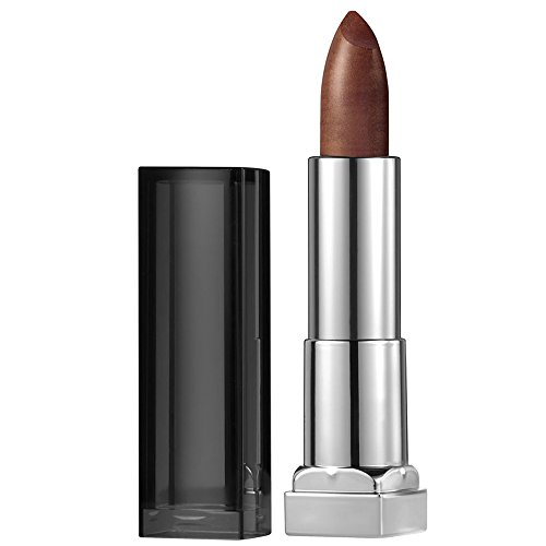 Maybelline New York Color Sensational Bronze Lipstick Metallic Lipstick, Molten Bronze, 0.15 oz