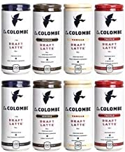 LaColombe La Colombe Draft Latte 9oz 4 Flavor Mix (Pack of 8)