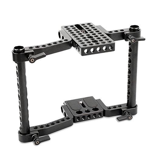 SMALLRIG VersaFrame Cage für Canon 70D, 60D, 80D, 5D IV, 6D, Nikon D7000-1584