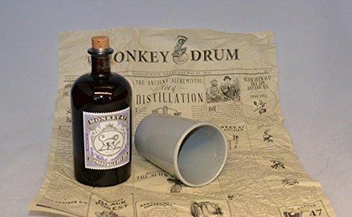 Monkey 47 Schwarzwald Dry Gin + original Krug Becher und Verpackung