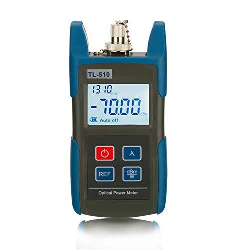 MMD FTTH Mini Fiber Optical Power Meter TL510 TL510C Faser-optisches Kabel Tester Optische Tester -50dBm ~ + 26dBm -70- + 10dBm Fibra Optica (Color : Type A)