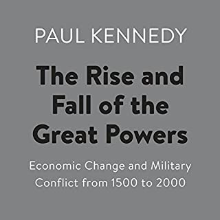 The Rise and Fall of the Great Powers audiobook cover art