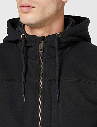 Carhartt Men's Rain Defender Rockland Quilt Lined Hooded Sweatshirt