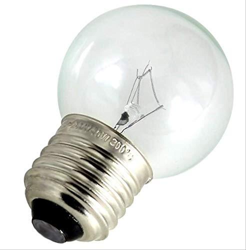 PMWLKJ 1 stücke E27 220 v Backofen Glühbirne E27 Hochtemperatur-dampfer Glühbirne 300 Grad 40 watt E27 Backofen Glühbirne