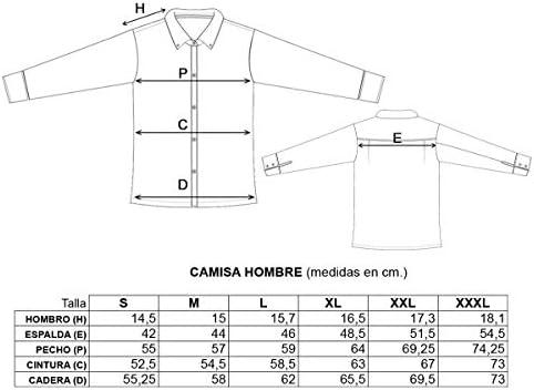 Confecciones A.Mom Camisa Oficial Real Madrid para Hombre ...