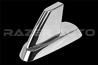 Razer Auto Chrome Antenna Cover for 07-13 Chevy Silverado 1500/2500/3500,07-14 Tahoe,Suburban, 07-13 GMC Sierra 1500/2500/3500, 07-14 GMC Yukon, Yukon XL Chrome Antenna Cover
