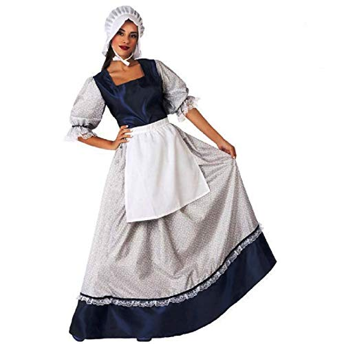ATOSA disfraz mesonera adulto mujer azul M