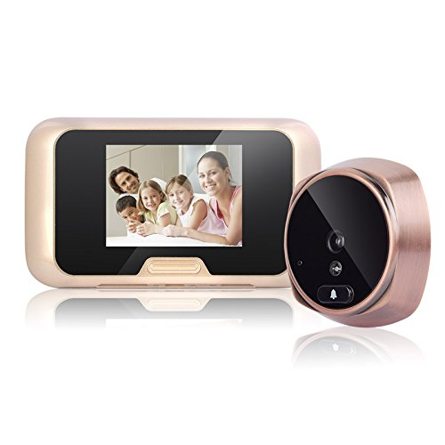 Videoportero HD, Monitores En Color Y Cámara HD Montada En Superficie Videoportero Con Reconocimiento Facial, Interacción De Voz, Visión Nocturna, Detección De Movimiento, Notificación De Inserción