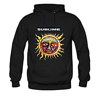 Andrea Sotaski Sublime Mens Hoody Sweatshirt XXXL Black