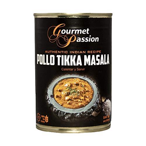 Pollo Tikka Masala Lata 400g Gourmet Passion