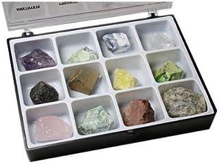 Boite de minéraux Bruts 12 Pierres Pierres brutes de lithothérapie et de collection @ pierretoiles