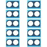 YGMOTO XIO ATHJ 10 PCS Lente de la cámara Cubierta Adhesiva for Huawei Honor 8X
