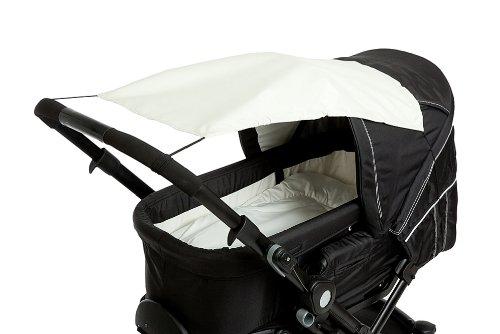 Altabebe AL7010-03 Sonnensegel mit UV Schutz für Kinderwagen/Buggys, beige
