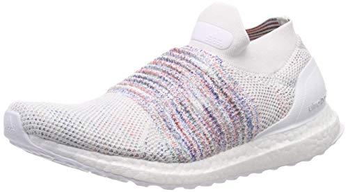 Adidas Ultraboost Laceless, Zapatillas de Running para Hombre, Blanco (FTWR White/Active Red/Active Green FTWR White/Active Red/Active Green), 51 EU