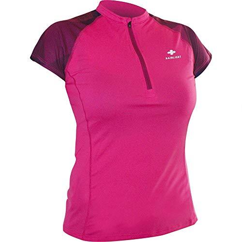 RaidLight Activ Run SS Shirt Mid Zip - T-Shirt Femme
