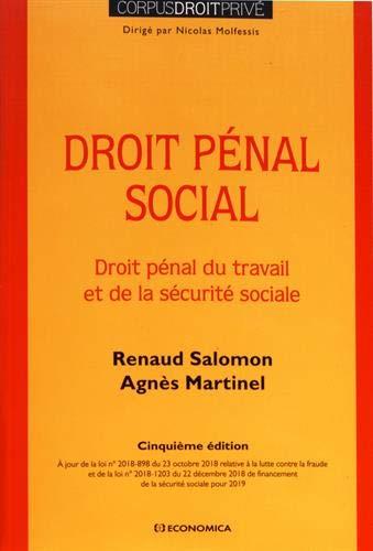 Droit pénal social