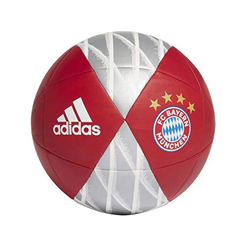 adidas Fussball FC Bayern München Capitano FCB True RED/red/White/Silver met. 5