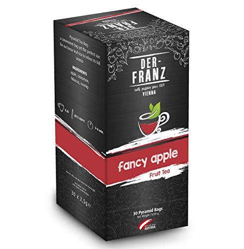 """Der-Franz Früchtetee """"Fancy Apple"""" in Pyramidenteebeuteln, 30Teebeutelnx2,5g"""
