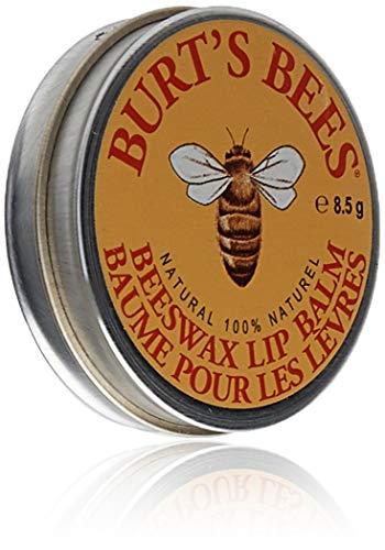 Burt's Bees Lip Balm Tin, Beeswax, 0.3 oz, 2 pack