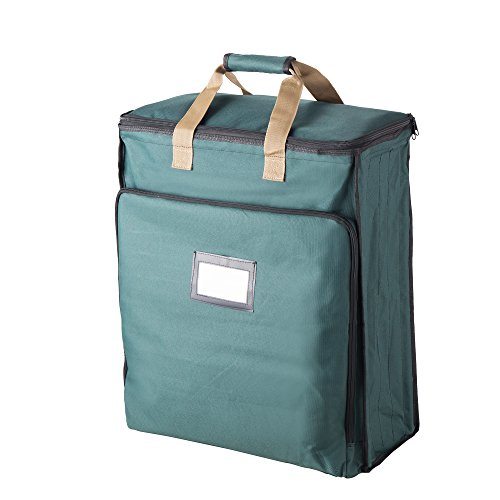 Tiny Tim Totes 83-DT5580 Ultimate Organizer | Premium Holiday Storage for Gift Wrap and Bags | Green
