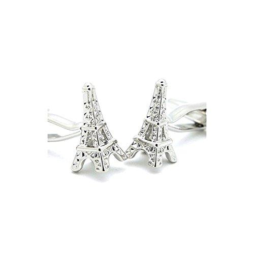 """Boutons de Manchette Mariage Paris """"Tour Eiffel"""""""