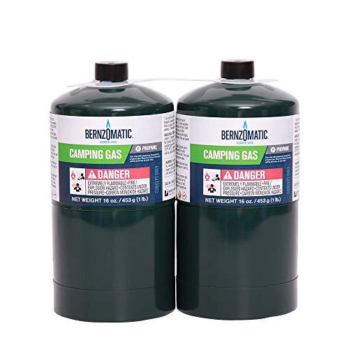 Bernzomatic 16oz. 2-pack Propane Camping Gas Tanks (32oz total)