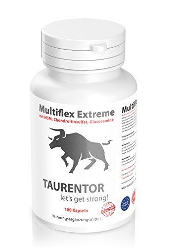 Taurentor Multiflex Extreme 180 Kapseln mit MSM, Chondroitinsulfat, Glucosamine,
