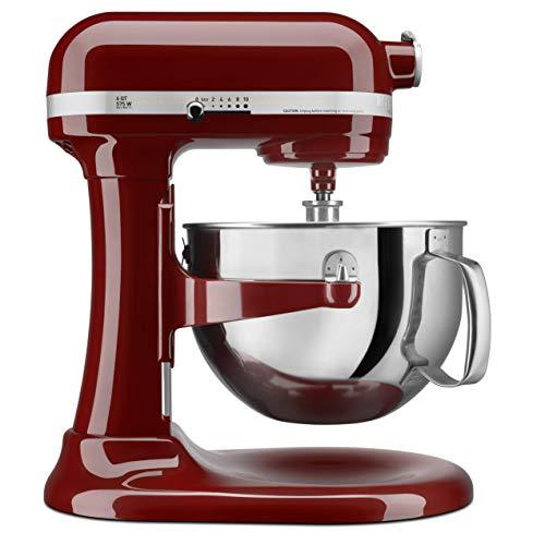 KitchenAid KP26M1XGC 6 Qt. Professional 600 Series Bowl-Lift Stand Mixer - Gloss Cinnamon (Renewed)