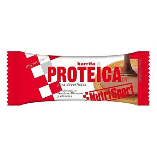 Nutrisport Barrita Proteica 24 x 46g Galleta ⭐