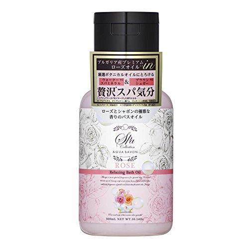 アクアシャボン スパコレクション リラクシングバスオイル ローズスパの香り 300mL