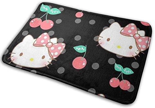 not applicable Felpudo Alfombra de Entrada Alfombra Elegante Hello Kitty con diseño...