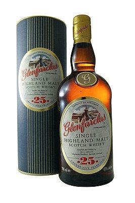 Glenfarclas 25 Years Highland Single Malt Scotch Whisky 43% 0,7l Flasche