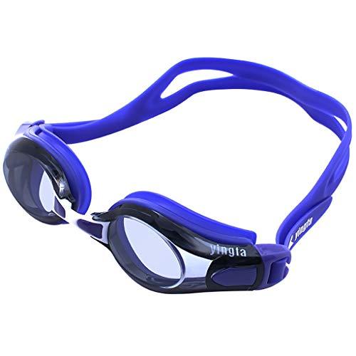 Eres el mejor Gafas de natación HD antivaho e Impermeable Marco Grande cómodo Profesional Opcional
