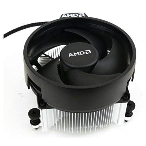 AMD Wraith Spire Ryzen Socket AM4 4-Pin Connector CPU Cooler with Copper Core Base & Aluminum 3.81-Inch take from 2600x not in Retail Box (CopperX)