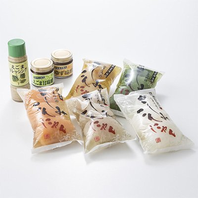 さしみこんにゃく5種セット やまのふぐさしみこんやく 日本古来の在来種蒟蒻芋を使って作りました。