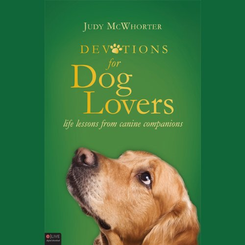 Devotions for Dog Lovers audiobook cover art