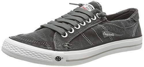 Dockers by Gerli Herren 30ST027 Sneaker - Grau (Grau 200) , 43 EU