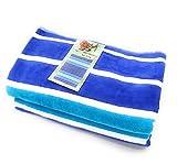 TEXTURAS SUN&SURF Toalla Playa Doble 752 A 150X170 Cms. Azul