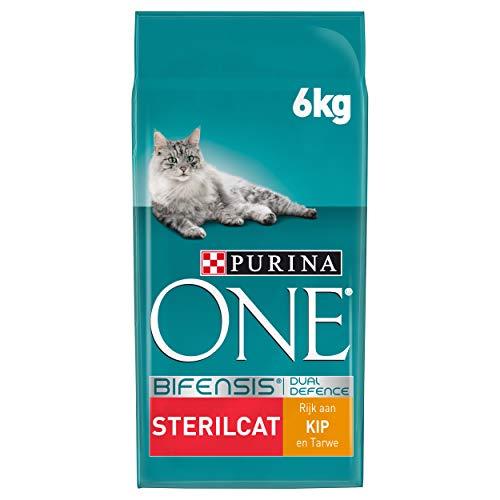 Purina ONE Sterilcat Kattenbrokken met Kip en Tarwe, 6kg
