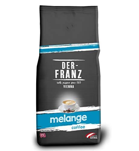 Der-Franz Melange-Kaffee UTZ, ganze Bohne, 1000g
