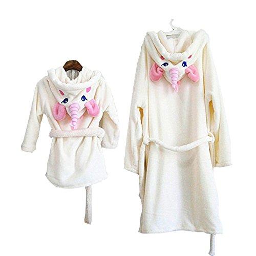MJTP Unicorno Accappatoi per Bambini e Donne Pigiama Unicorno Costumi (Donna)